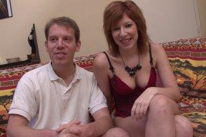 Couple amateur se fait filmer pour la première fois